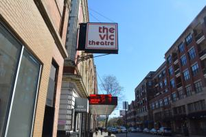 The Vic Theater lies in one of the most residential areas on Lincoln Park.